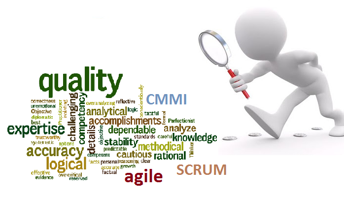 Software Quality Fusion; Agile and CMMI